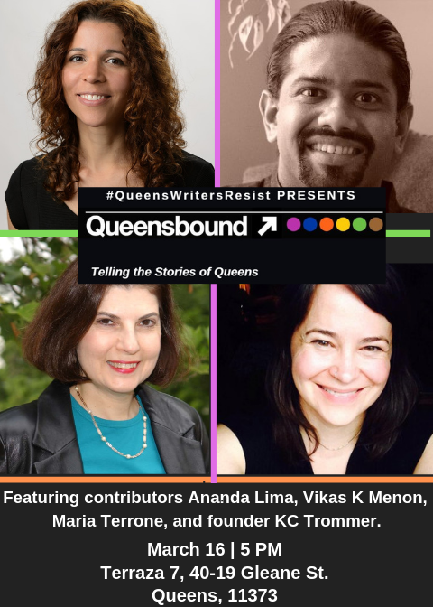 Queensbound Reading At Terraza 7 Ananda Lima